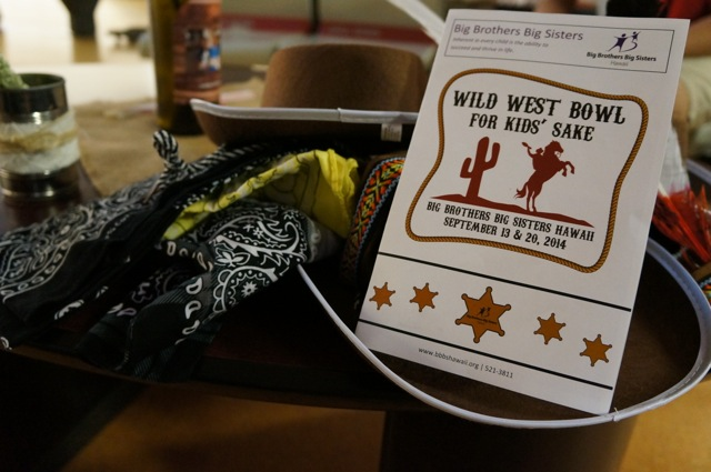 Big Brothers Big Sisters - Wild West Bowl for Kids' Sake 2014